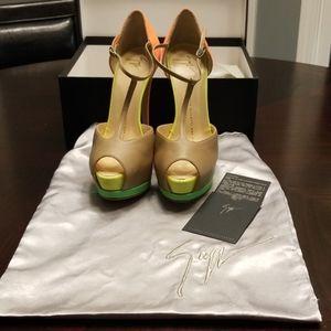 NWT Beautiful Guiseppe Zanotti Heels